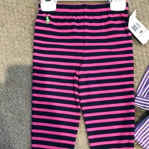 NWT RAlph Lauren Leggings striped